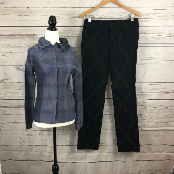 Issey Miyake Pleats Please Blouse and Pants